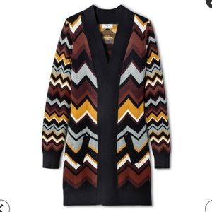 Zig Zag Stripes Open Cardigan - Missoni for Target
